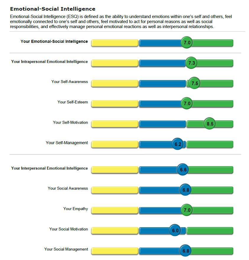 Emotional-Social Intelligence Index